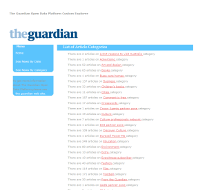 Guardian Newspaper Football Content